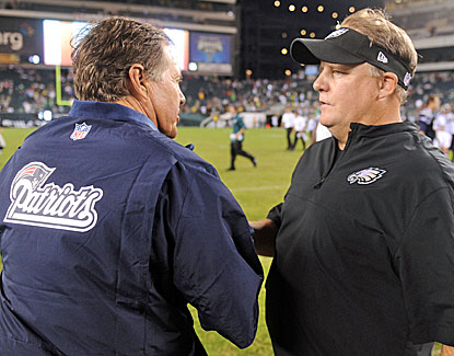 Bill Belichick gets the better of Chip Kelly in the former Oregon coach's NFL debut with Philadelphia. (USATSI)