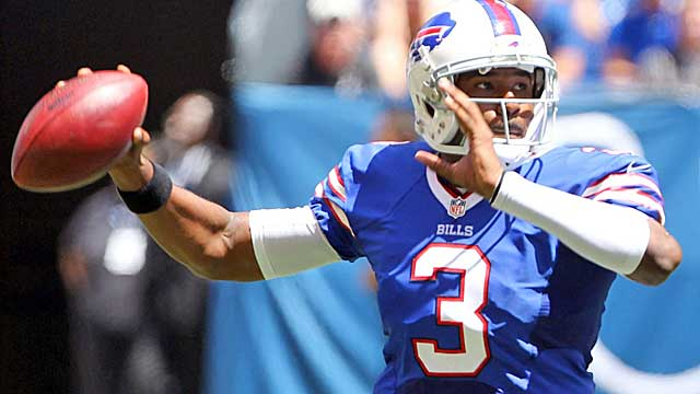 EJ Manuel has a QB rating of 95.9 through two games this season. (USATSI)