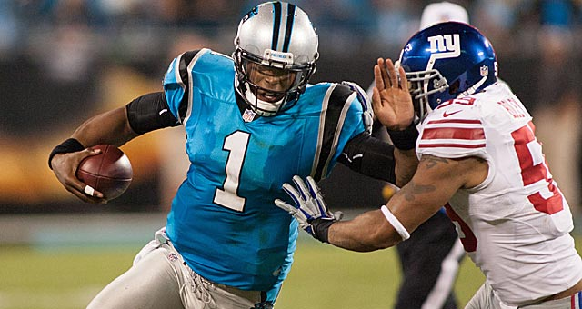 Newton and the Panthers got off to a miserable start in 2012 until shifting away from the read-option. (USATSI)