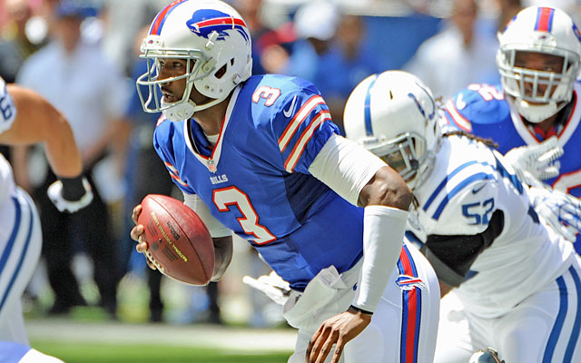 EJ Manuel is executing well enough under center that he's looking likely to be the Bills' Week 1 starter. (USATSI