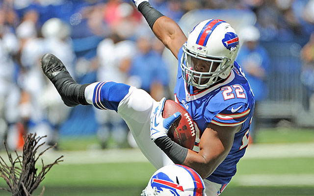 A healthy Fred Jackson (alongside CJ Spiller) gives Buffalo one of the NFL's best rushing attacks. (USATSI