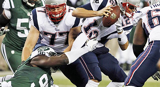 The Jets plan to free up Wilkerson to make more big plays like this sack of Tom Brady. (USATSI)
