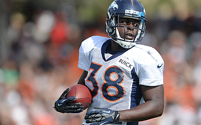 Ball has been running behind second-year pro Ronnie Hillman throughout training camp. (USATSI)