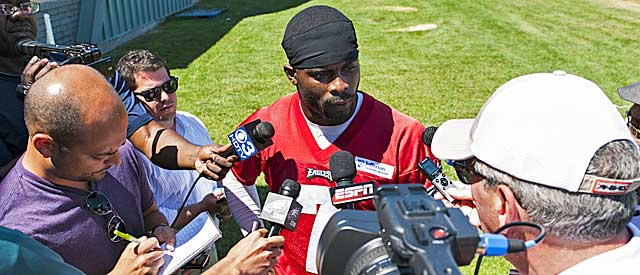 Having tackled his own issues, Michael Vick even spoke up for Riley Cooper. (USATSI)