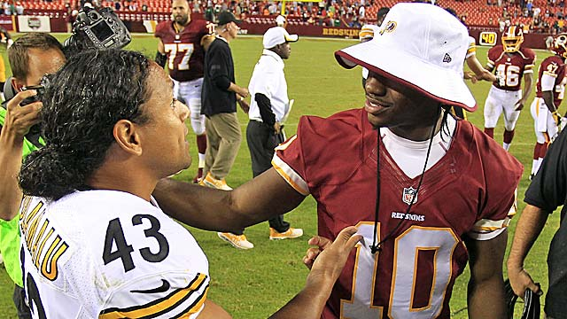 RG3 has been sitting out preseason games; will he  show they are totally unnecessary? (USATSI)