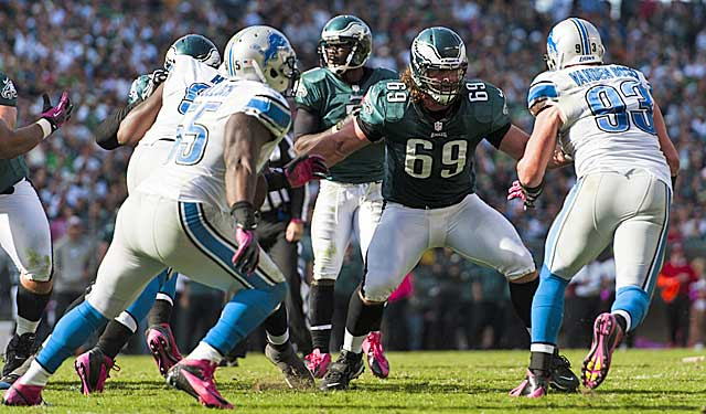 Evan Mathis says athleticism on the O-line can keep Chip Kelly's pace. (USATSI)