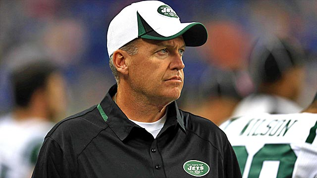 Rex Ryan's hot seat figures to get burning hot as this season unfolds. (USATSI)