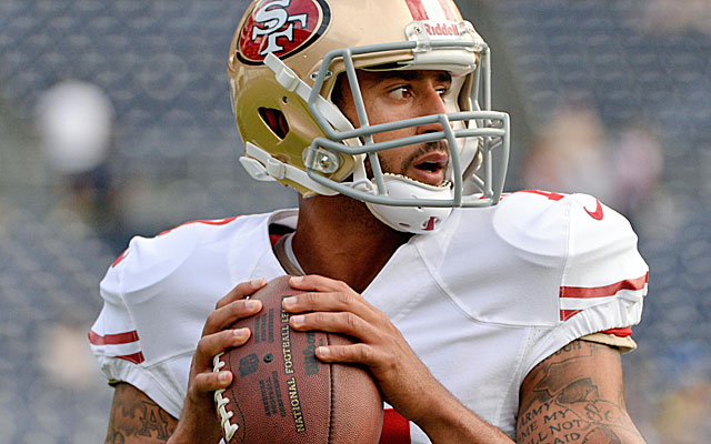 Defensive coordinators have spent the offseason scheming to slow down read-option QBs like Colin Kaepernick. (USATSI)