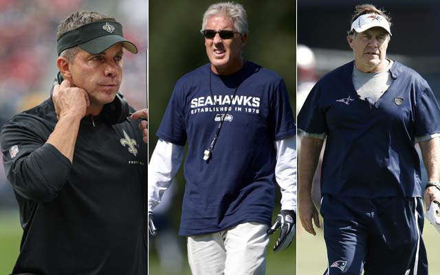 CBSSports.com experts pick Sean Payton, Pete Carroll and Bill Belichick to win NFL coach of the year. (USATSI)
