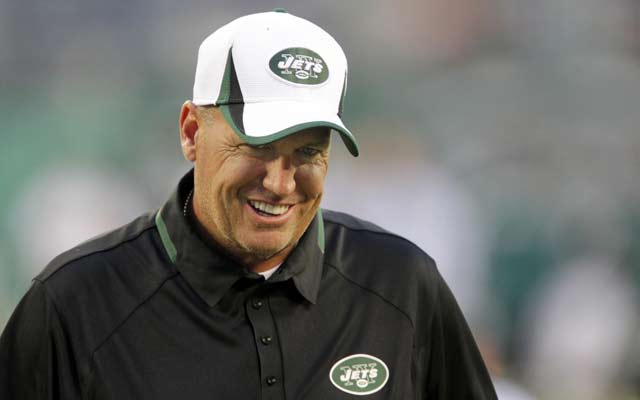 Rex Ryan will on the coaching hot seat all season. (USATSI)