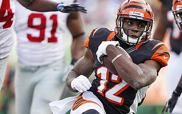 Will Mohamed Sanu emerge for the Bengals after his impressive preseason? (USATSI)