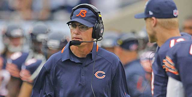 Players weren't the only rookies getting it done Sunday. Bears coach Marc Trestman won his opener. (USATSI)