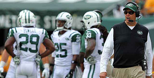 Is Rex Ryan on the hot seat? Not if Sunday vs. the Bucs is an indication. (USATSI)