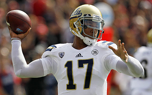 Brett Hundley led a second-half explosion for UCLA against Nebraska. (USATSI)