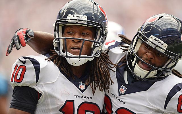 The Texans managed to pull out another close win, thanks to rookie WR DeAndre Hopkins. (USATSI)