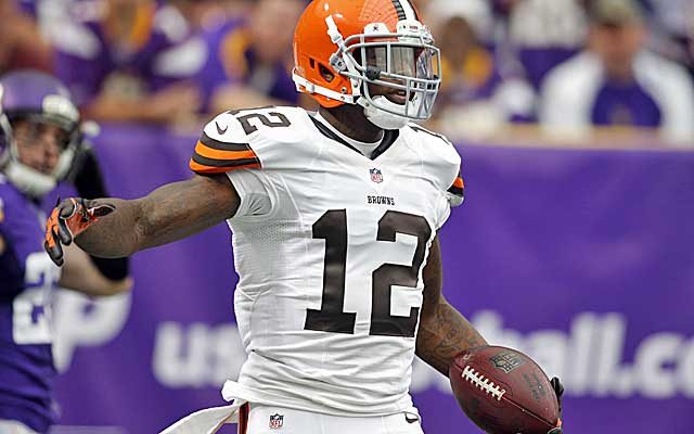 Josh Gordon's big game Sunday could quiet trade talk. (USATSI)