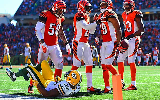 The Bengals deserve credit for their resilience after blowing a lead to the Packers. (USATSI)