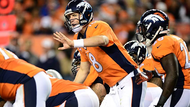 Peyton Manning has had his version of the no-huddle in unstoppable mode. (USATSI)