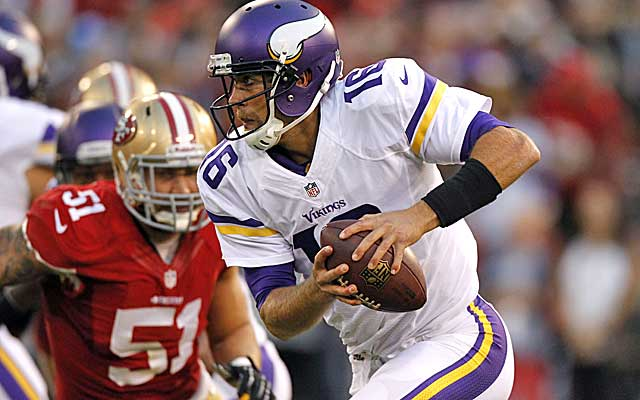 Matt Cassel's fill-in role could become permanent in Minnesota. (USATSI)