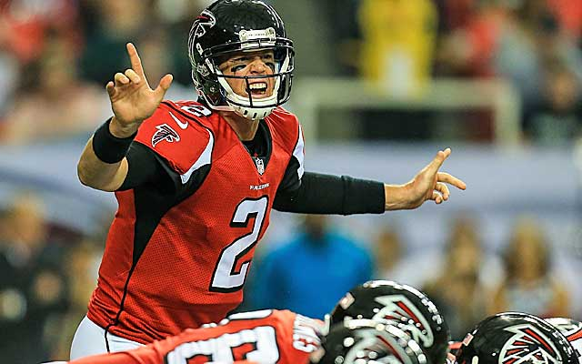 Matt Ryan's name is often mentioned when it comes to the fifth-best QB debate.  (USATSI)