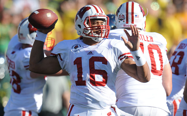 Yes, Russell Wilson finished his college career at Wisconsin, but his star began rising at NC State. (USATSI)