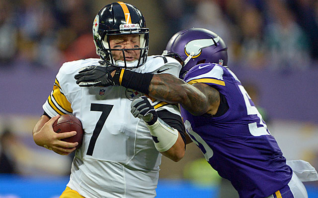 The Steelers -- at 0-4 for the first time since 1968 -- have struggled protecting Ben Roethlisberger. (USATSI)