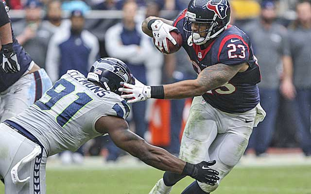 It took Arian Foster nearly 30 carries to get over 100 yards Sunday. (USATSI)