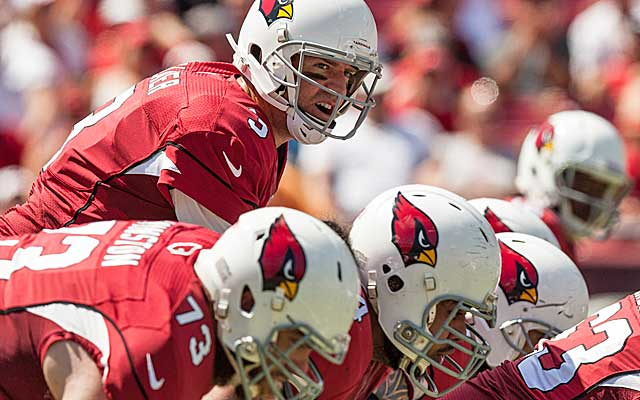 Carson Palmer doesn't look like the solution to the Cardinals' ongoing search for a franchise QB. (USATSI)