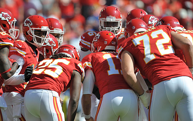 The Chiefs put their surprising 4-0 record on the line when they visit Tennessee on Sunday. (USATSI)