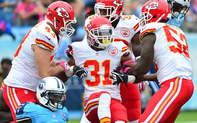 The Chiefs have not been 5-0 since 2003, when they won the AFC West but lost their first playoff game. (USATSI)