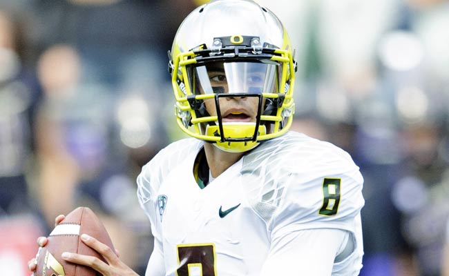 Marcus Mariota has the skills of Colin Kaepernick with a more refined delivery. (USATSI)