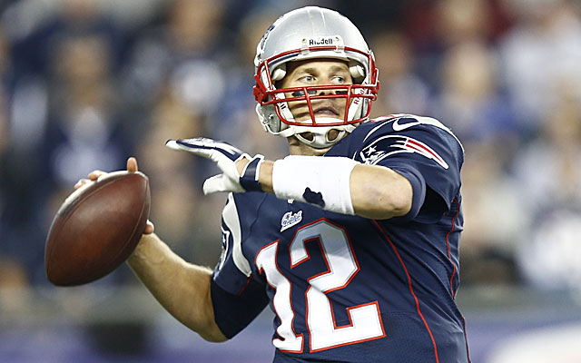 Tom Brady is getting the Patriots' no-huddle offense revved back up. (USATSI)