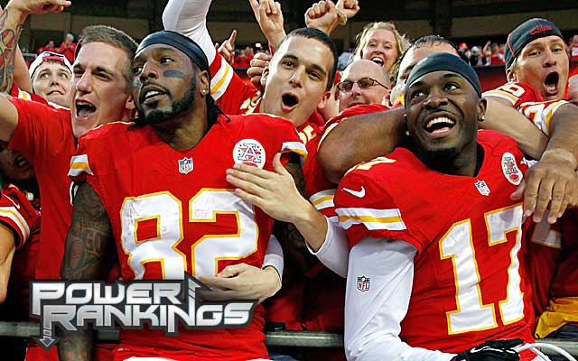 The Chiefs are perfect so far, despite an offense that is anything but faultless. (Getty Images)