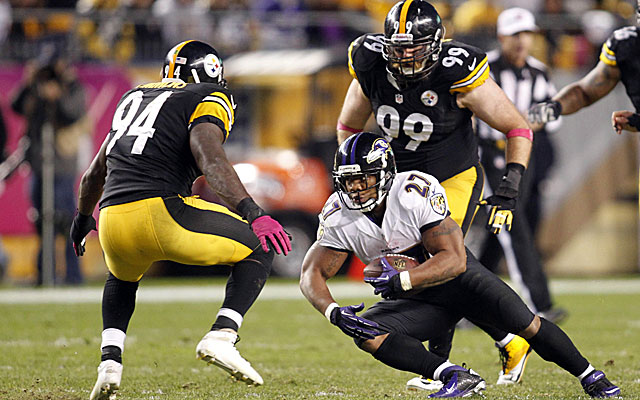 The Steelers look like they're getting on a roll. (USATSI)