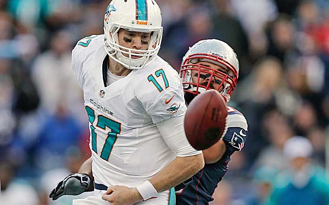 The hits are piling up for Ryan Tannehill.  (USATSI)