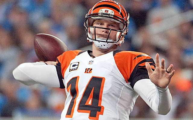 Andy Dalton has the Bengals on a roll.  (USATSI)