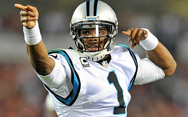 Cam Newton has the Panthers in the hunt for a playoff berth.  (USATSI)