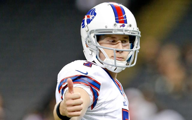 The Bills will rely on Jeff Tuel against the 8-0 Chiefs. (USATSI)