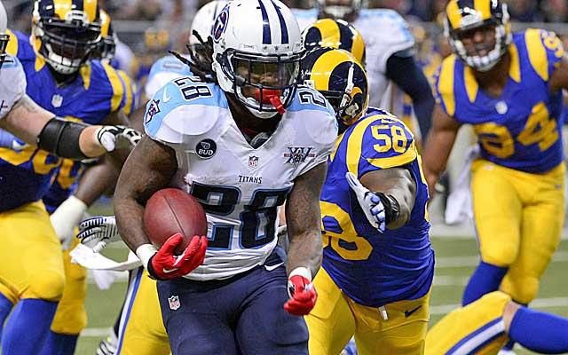 Can Chris Johnson and the Titans make a run for the playoffs?  (USATSI)