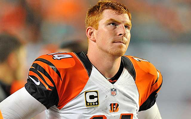 Andy Dalton and the Bengals will have to overcome the Geno Atkins injury.   (USATSI)