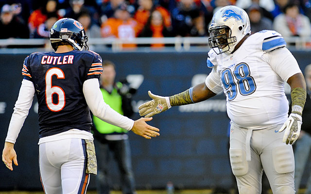 The Bears are left to hope for a wild card after losing to likely NFC North champion Detroit. (USATSI)