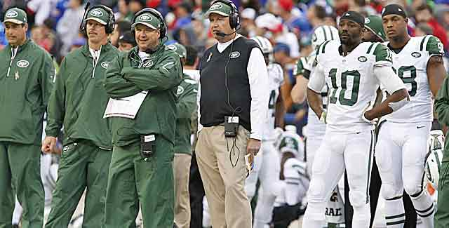 Ladies and gentlemen, the NFL's most inconsistent team -- the New York Jets. (USATSI)