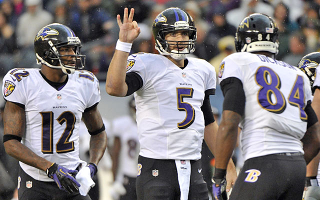 The Ravens' title defense isn't going well; a win Sunday gives their playoff hopes a boost. (USATSI)
