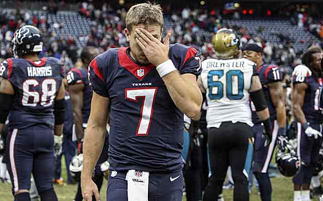 Losing to the Jags was the final straw. Houston dips to No. 32. (USATSI)