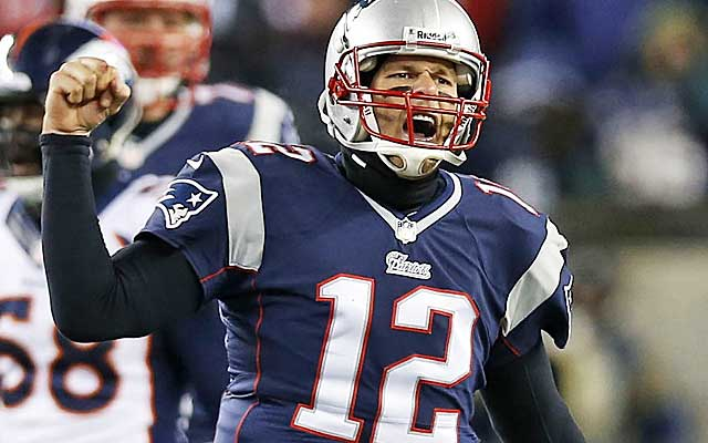 Tom Brady grew up in sunny California but he's among the best cold-weather QBs in the NFL.  (USATSI)