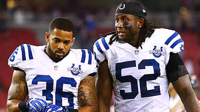 The Colts look to put a little distance between themselves and the rest of the AFC South. (USATSI)
