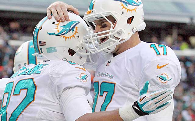 Can the Dolphins stay afloat in the race for the final AFC playoff spot?  (USATSI)