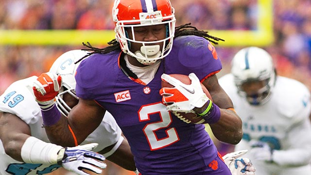 Sammy Watkins lost ground as a sophomore but has regained it impressively. (USATSI)