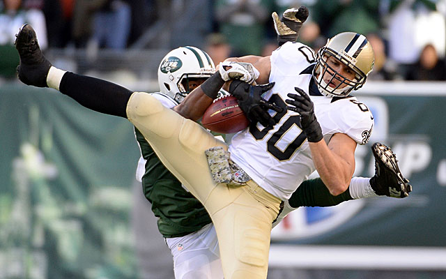 Saints tight end Jimmy Graham is a preferred target in goal-to-go situations. (USATSI)