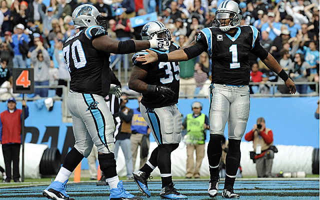Cam Newton and the Panthers have won eight straight and play New Orleans on Sunday for first place in the NFC South. (USATSI)